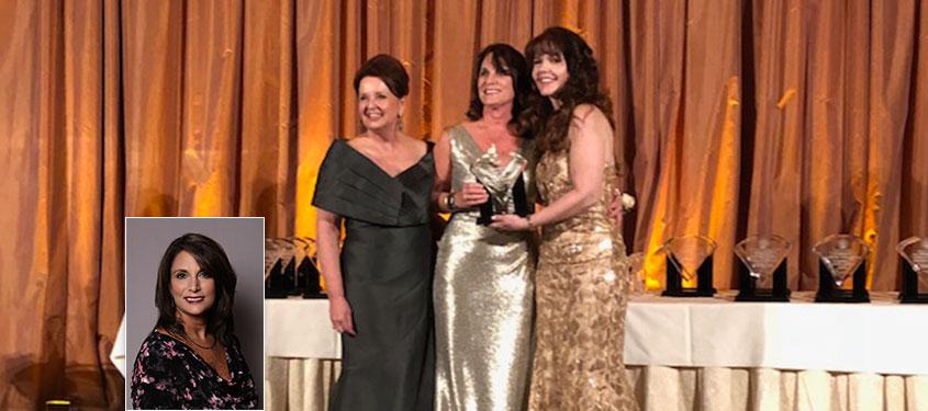 Robin Sanchez receives Susan D. Tanzman Inspiration Award at SoCal ASTA Diamond Awards